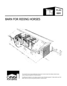 Small Barn plan